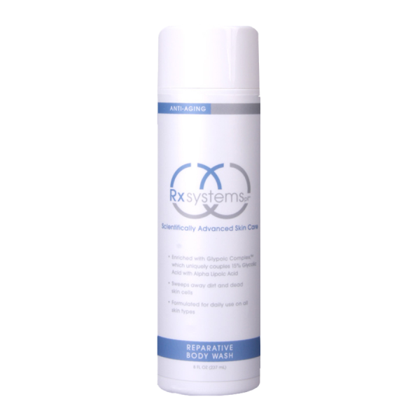 Rx Systems PF Reparative Body Wash | Hill Dermatology of Bartlesville, Oklahoma